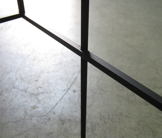 Thin Black Table by Cappellini