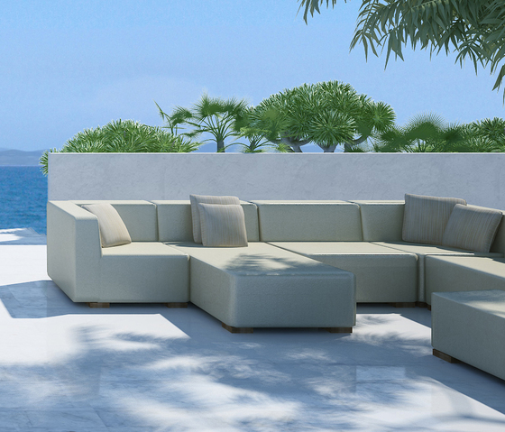 Block 90 3 Seater 1 arm by Design2Chill