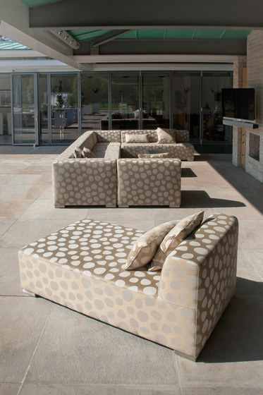 Block 90 Corner/ 1,5 Seat by Design2Chill