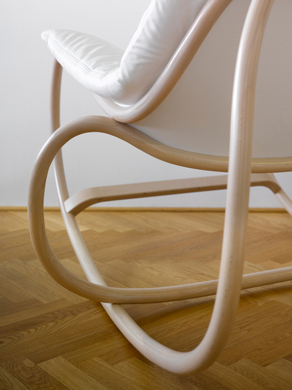 Wave rocking chair by TON