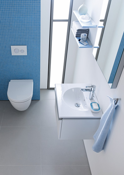 Darling New - Vanity units with integrated console by DURAVIT