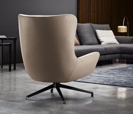 jensen berg re loungesessel von minotti architonic. Black Bedroom Furniture Sets. Home Design Ideas