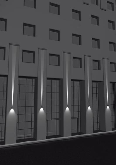 Effetto de artemide applique d ext rieur produit for Lumiere exterieur facade