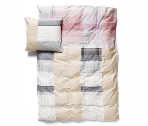 Colour Block Bed Linen by Hay