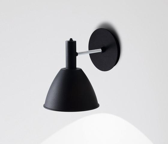 Wandleuchte Bauhaus w mit LED by Lumini