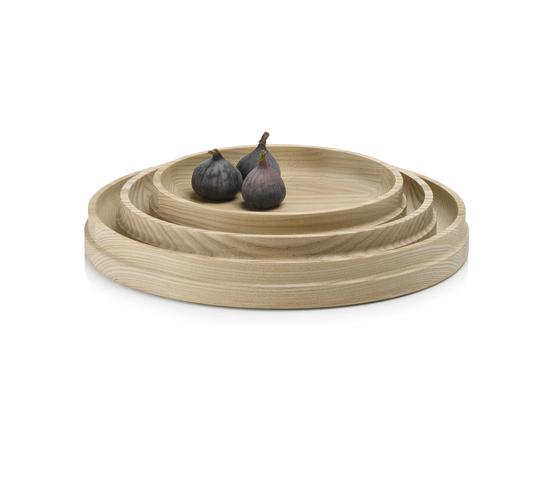Curve Walnut Platters di Miranda Watkins