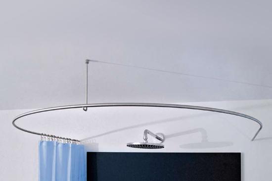 Bathtub Shower Curtain Rod Images