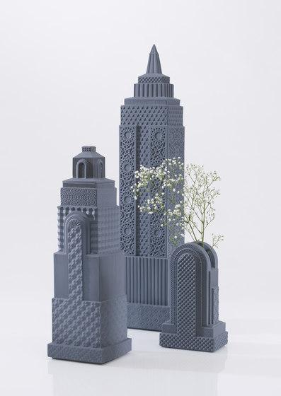 Metropolis - Vase I (white) by Lladró