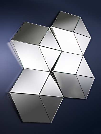 Hexagon by Deknudt Mirrors