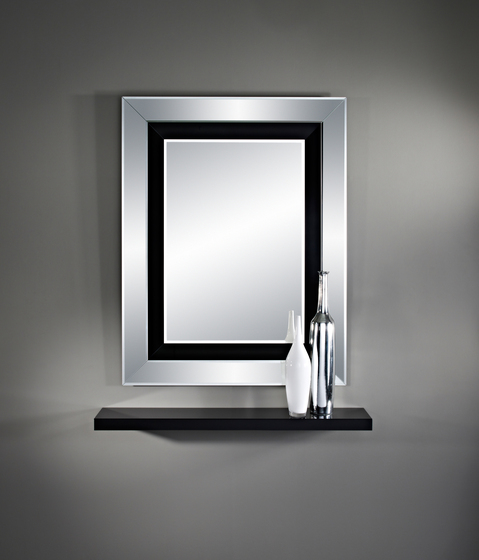 Jewel Black R by Deknudt Mirrors
