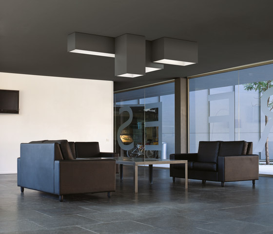 Link ceiling lamp triple de Vibia