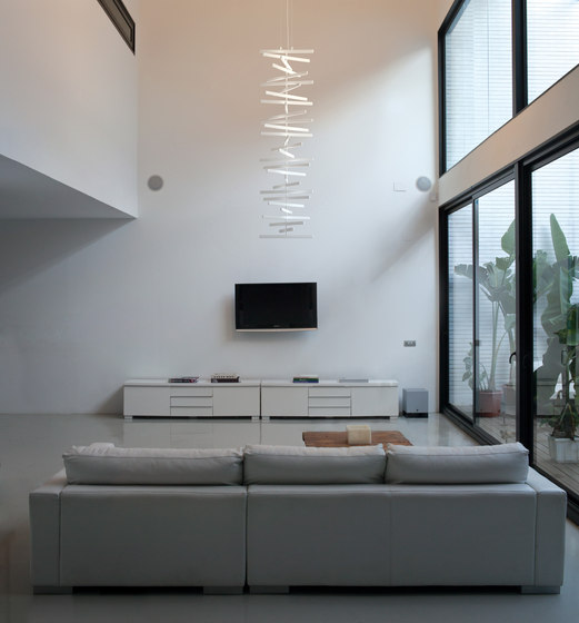 Rhythm pendant lamp by Vibia
