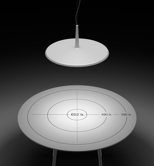 Skan 0250 Reading Stand by Vibia