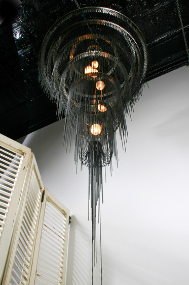 Droplet Art Chandelier 1000 di Willowlamp