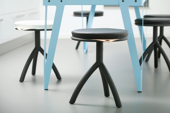 Stool silver by Functionals
