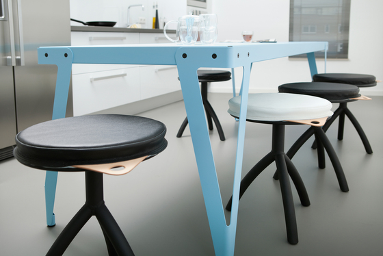 Stool black by Functionals
