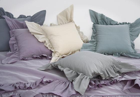 Brigitte cushion polvere by Poemo Design