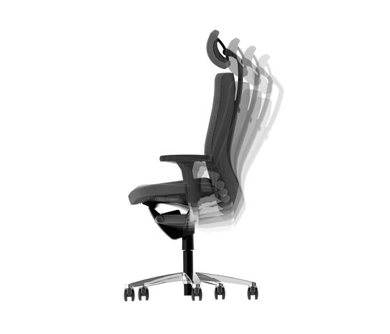 LAMIGA Swivel chair de König+Neurath