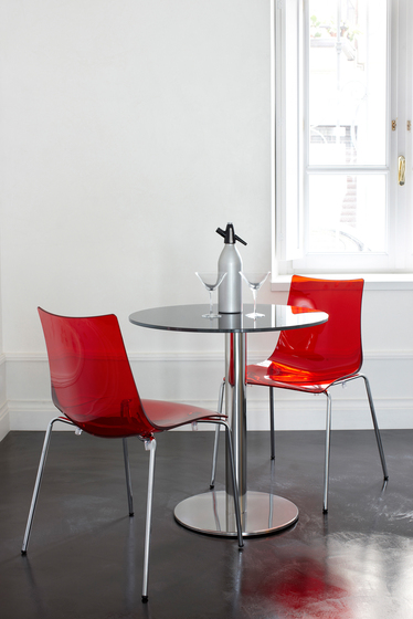 Zebra Antishock stool sledge frame by Scab Design