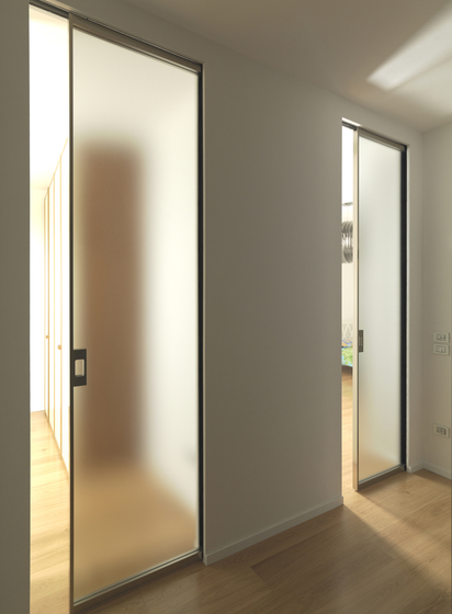 Sysntesis® Line Hinged Door by Eclisse