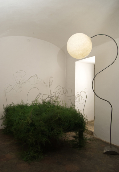 Luna piantana floor lamp by IN-ES.ARTDESIGN