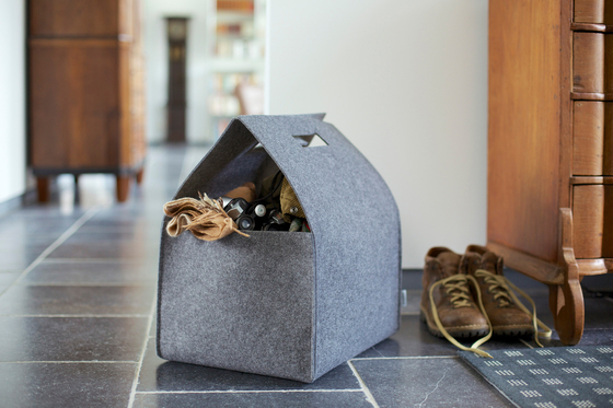 Little Porter Felt Carry Box di greybax