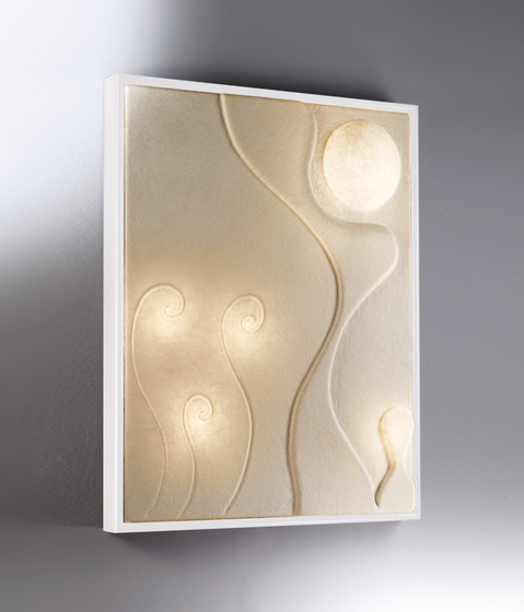 Ten Moons wall lamp by IN-ES.ARTDESIGN