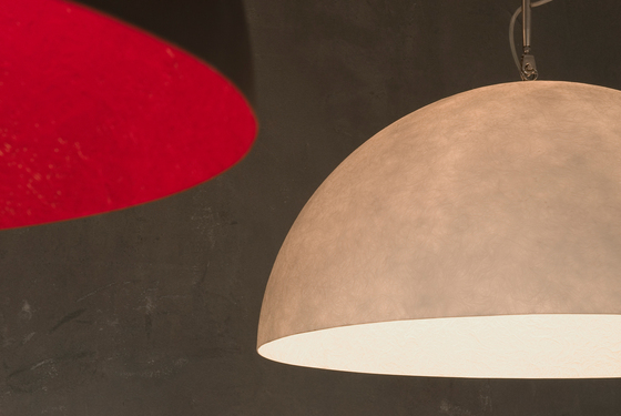 Mezza Luna blanc/orange de IN-ES.ARTDESIGN