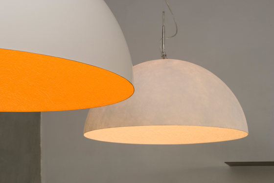 Mezza Luna blanc/or de IN-ES.ARTDESIGN