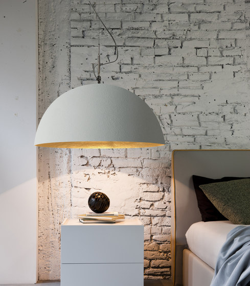 Mezza Luna white/gold de IN-ES.ARTDESIGN