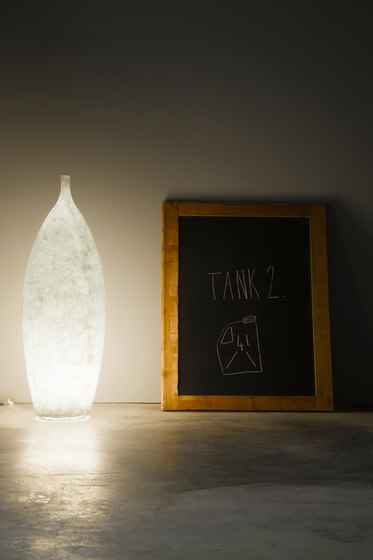 Tank 2 floor lamp by IN-ES.ARTDESIGN