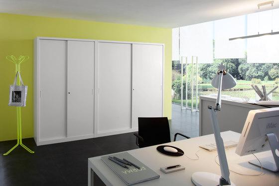 Sliding door cabinet | W 1200 H 880 mm de Dieffebi