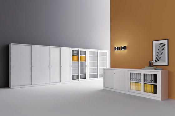 Sliding door cabinet | W 1200 H 880 mm by Dieffebi