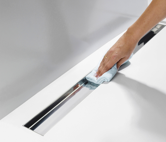 TECEdrainline shower channels by TECE