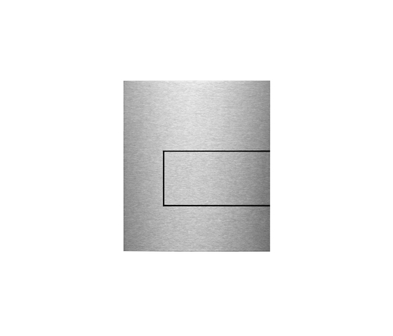 TECEsquare stainless steel Urinal flush button by TECE