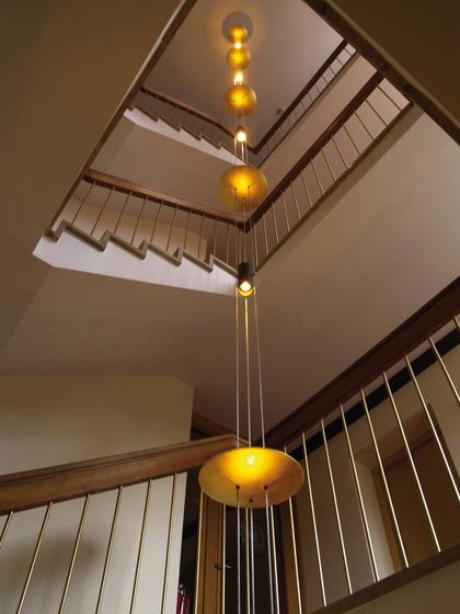 bel air oligo glas pendelleuchte modern. Black Bedroom Furniture Sets. Home Design Ideas