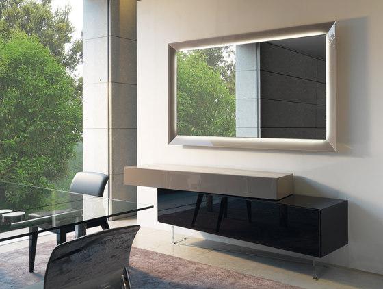 Prisma di reflex steel scrivania libreria 72 steel - Specchi per salotto ...