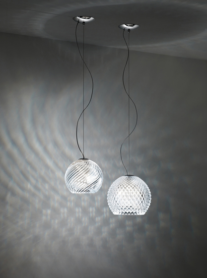 Diamond-Swirl D82 D98 00 by Fabbian