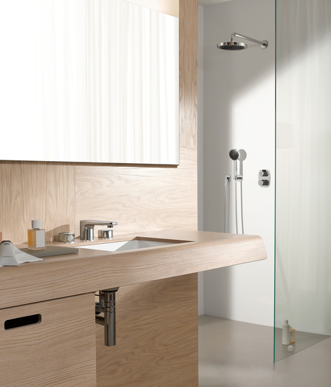 Gentle - Wall-mounted basin mixer by Dornbracht