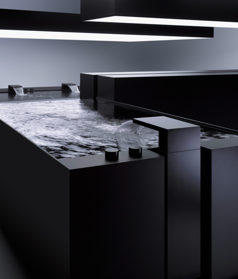 DEQUE - Water-shaping source by Dornbracht