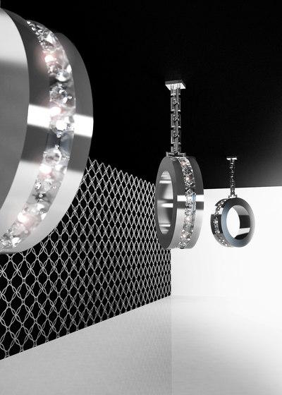 Diamonds from Amsterdam hanging lamp by Brand van Egmond