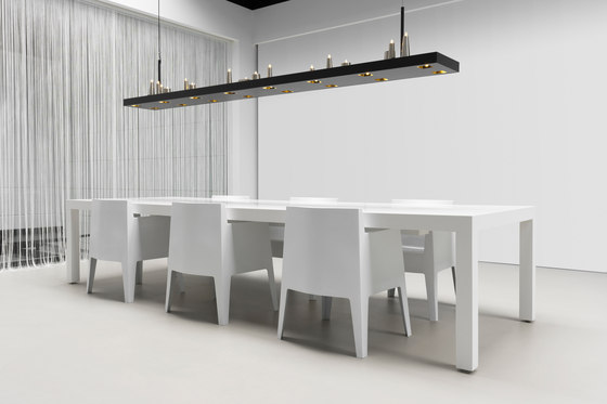 Table d'Amis hanging lamp long di Brand van Egmond