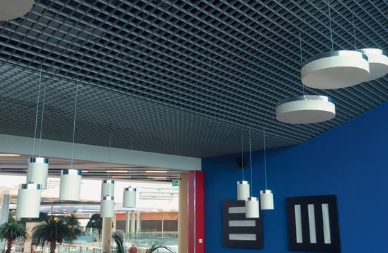 Cell Ceiling System Suspended Ceilings From Hunter