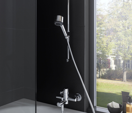Twinprime pin | Shower mixer by Laufen