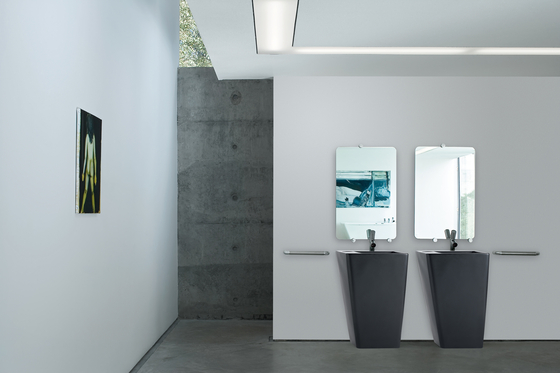 ILBAGNOALESSI dOt | Double washbasin by Laufen