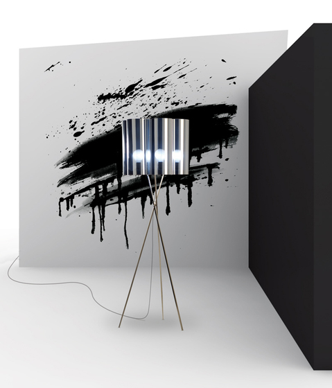 Tubes H418 floor lamp by Dix Heures Dix