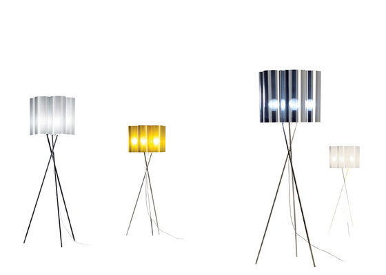 Tubes H417 floor lamp by Dix Heures Dix