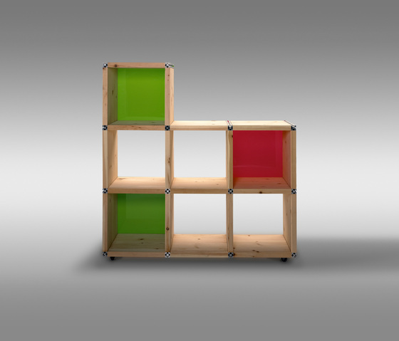 Flip - Shelf system by Pudelskern