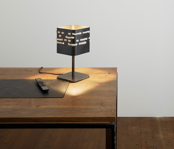 Morse - Wall lamp by Pudelskern