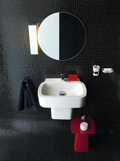 Palomba Collection | Countertop washbasin di Laufen